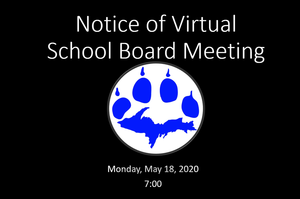 May 2020 - Board Meeting Notice